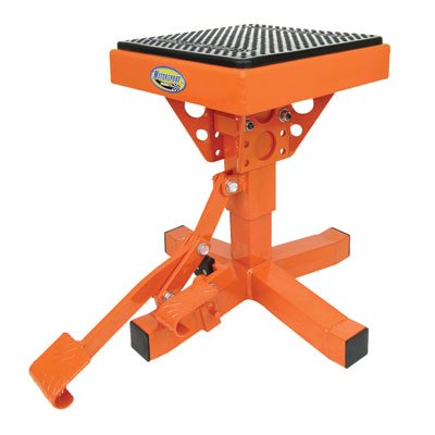 Motorsport Products 92-4016 Orange P12 Adjustable Lift Stand