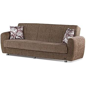 Amazon.com: Elita sofá cama – Arco iris Color café: Kitchen ...