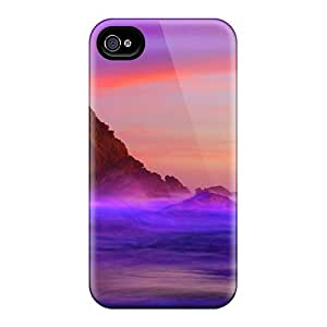 Slim Fit Protector Shock Absorbent Bumper Twilight Sunset Cases For Iphone 6
