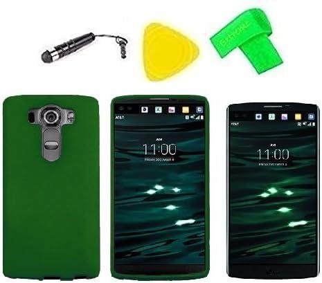 Carcasa rígida snap on phone cover case + Protector de pantalla + ...