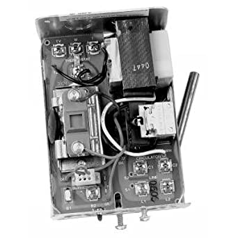 honeywell aquastat relay with remote bulb cover off 6. Black Bedroom Furniture Sets. Home Design Ideas
