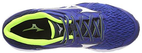 classicbluewhitedressblues Homme De Prodigy Chaussures Mizuno Wave Multicolore Running UqZw0