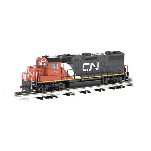Bachmann Industries General Motors GP 38 Scale Diesel Locomotive Canadian National 4700 O Scale Train from Bachmann Trains