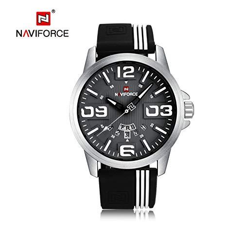 HWCOO Relojes NAVIFORCE / 9123 Reloj de Cuarzo para Hombre (Color : 4)