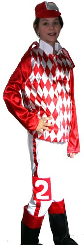 Jockey Silks Costume Child Large