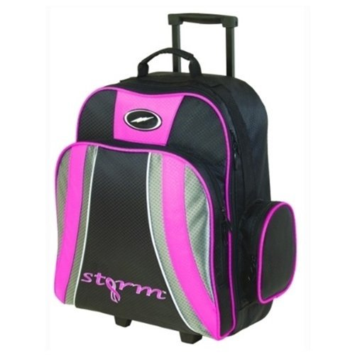Storm Rascal 1 Ball Roller Bowling Bag- Pink/Black by Storm Bowling Products