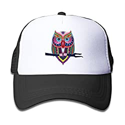 Adjustable Tribal Cartoon Animal Eagle Ultra Breathable 35%cotton 65%Nylon Children Hats . No Matter Baby Girl Or Baby Boy All Are Suitable.