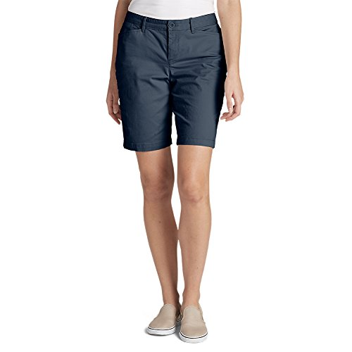 Eddie Bauer Womens Short (Eddie Bauer Women's Legend Wash Curvy Stretch Shorts - 10