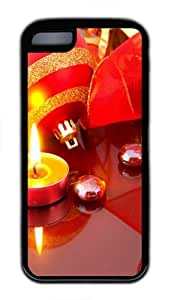 ChrIstmas Light TPU Case Cover for iPhone 5C and iPhone 5C Black