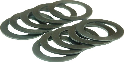 (Wheels Manufacturing PF30 Spacers 30 x 0.5mm Bike Pack Accessories (Bag of 10))
