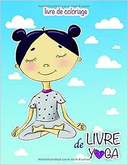 Livre de YOGA: Livre de coloriage: Amazon.es: Holz Books ...