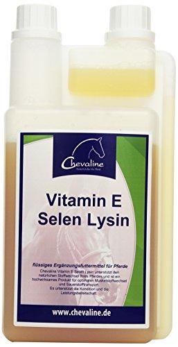 United Sportproducts Germany USG 19400006-010 Chevaline Vitamin E-Selen-Lysin, flssig, 1 Liter