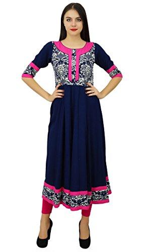blue anarkali dress - 3