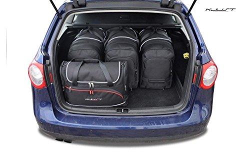 AUTO-TASCHEN MASSTASCHEN ROLLENTASCHEN VW PASSAT VARIANT, B6, 2005-2010 CAR BAGS - KJUST