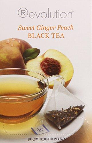 Revolution Tea Sweet Ginger Peach Black Tea, 20 - Ginger Peach Tea