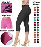 Best  - Lush Moda Extra Soft Capri Leggings - Variety Review