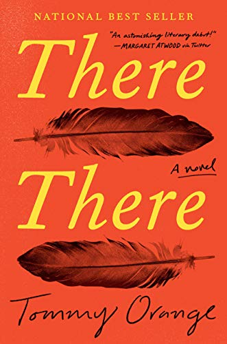 Book cover from There There: A novel by Tommy Orange