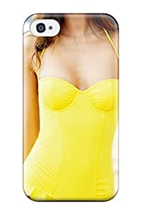 Melissa Jean Carpenter Iphone 4/4s Well-designed Hard Case Cover Miranda Kerr In Yellow Swimsuit Protector