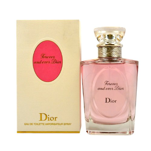 Dior Eau De Toilette Spray - Christian Dior Forever and Ever Dior Eau De Toilette Spray for Women, 3.4 Ounce