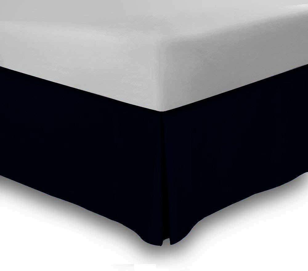 キャンバス E ベッドスカート 20 cm ドロップ テイラード ポプリン 1 ピース スプリット コーナー ベッドスカート 600 TC 100% 天然コットン ソフト & しわ防止 ベッドスカート Full - 8