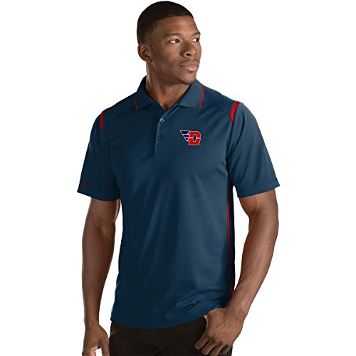 Antigua Red Classic Shirt (ANTIGUA MEN'S DAYTON FLYERS MERIT POLO SHIRT NAVY/RED)