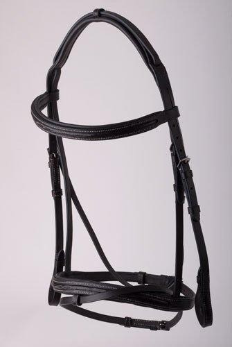 NEW Rhinegold Elegance Comfort Bridle Brown Pony