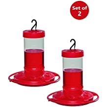 First Nature 3051 Hummingbird Feeder, 16-Ounce (Set of 2)