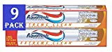 Aquafresh Extreme Clean Whitening Action 9 Pack Toothpaste, 5.6 Ounce (9 Pack)