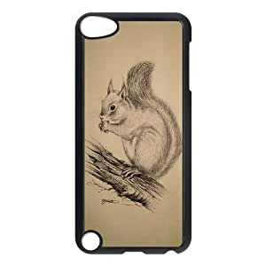 JamesBagg Phone case squirrel art pattern FOR Ipod Touch 5 FHYY447866