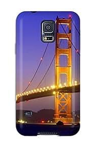 Galaxy Case Cover Golden Gate Bridge Galaxy S5 Protective Case