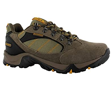 8b84107782b Hi-Tec Eagle Wide Waterproof Trail Walking Shoes Brown