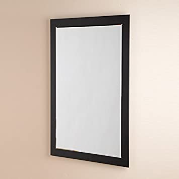 Bathroom Mirror 700x500 Glass 5mm Black Edge