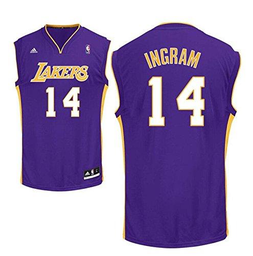Mens 14# Brandon Ingram Jersey Lakers Jerseys Basketball Jersey Purple