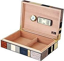 ZSIF Caja de cigarros, Caja de Madera de Cedro del cigarro ...