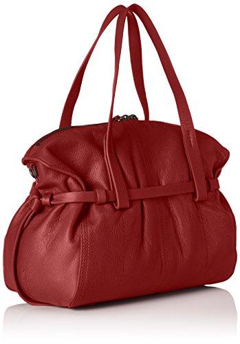 Liebeskind Berlin Caribou Vinlux - Shoppers y bolsos de hombro Mujer Rojo (Phonebox Red)