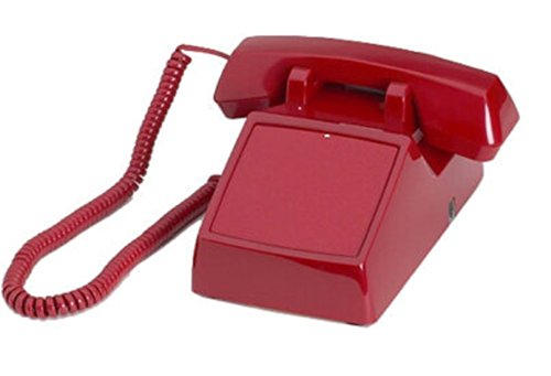 Hot Line Auto Dialer Desk Red Telephone ()