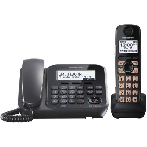Panasonic KX-TG4771B Dect_6.0 1-Handset 1-Line Landline Telephone by Panasonic