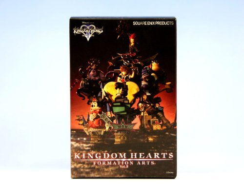 Kingdom Hearts Formation Arts vol.3 whole set of 6