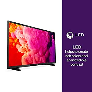Philips 32PHT4503/05 32-Inch HD Ready LED TV with Freeview HD – Black (2018/2019 Model)