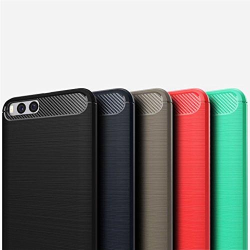 Funda Xiaomi Note3,Funda Fibra de carbono Alta Calidad Anti-Rasguño y Resistente Huellas Dactilares Totalmente Protectora Caso de Cuero Cover Case Adecuado para el Xiaomi Note3 C