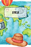 Syria: Ruled Travel Diary Notebook or Journey  Journal - Lined Trip Pocketbook for Men and Women with Lines