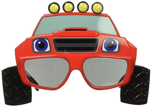 Blaze and the Monster Machines Instant Costume - Sunglasses Cartoon With Shark