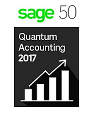 Sage 50 Quantum Accounting 2017 10 User + Sage Basic Support- INTERNATIONAL ONLY