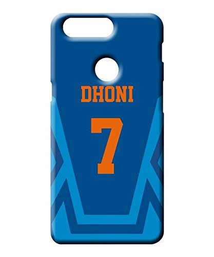 best authentic 33f73 4cb19 Sharq MS Dhoni India Jersey Mobile Back Cover for: Amazon.in ...