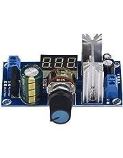 LM317 Regulador de Potencia Regulador de Voltaje Ajustable Pantalla de Voltaje Digital Tablero de Fuente de Alimentación Regulador Lineal Regulador Lineal