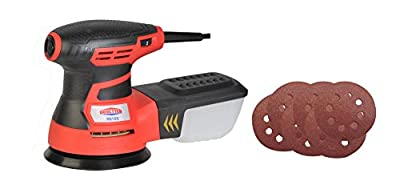 Dobetter MS20 2 Amp Detail Palm Sander with 18 Pieces Sandpaper