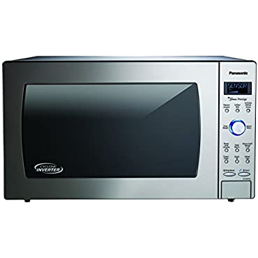 Panasonic NN-SD975S Countertop/Built-In Cyclonic Wave Microwave with Inverter Technology, 2.2  cu. ft., Stainless