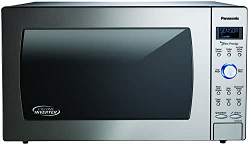 Panasonic NN-SD975S Countertop/Built-In Cyclonic Wave Microwave with Inverter Technology, 2.2  cu. ft. , Stainless