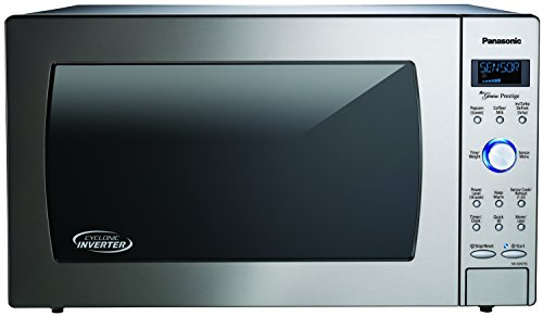 Panasonic NN-SD975S Countertop/Built-In Cyclonic Wave Microwave with Inverter Technology, 2.2 cu. ft. , 1250W,  Stainless