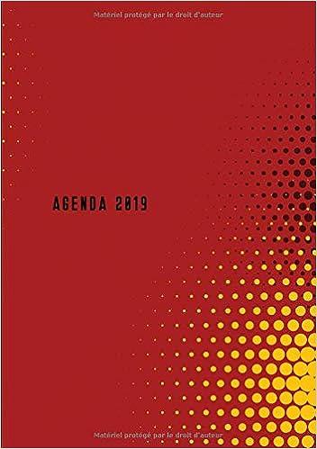 Amazon.com: Agenda: Semainier - Petit Format A5 - Rouge ...